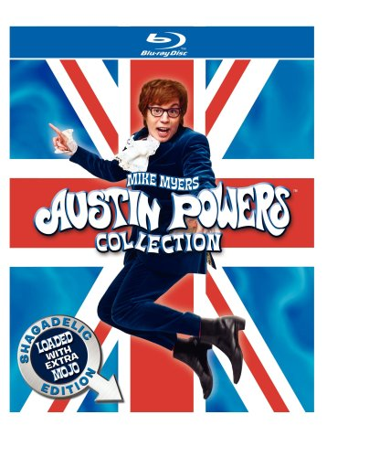 Austin Powers Collection: Shagadelic Edition Loaded With Extra Mojo (International Man of Mystery / The Spy Who Shagged Me / Goldmember) [Blu-ray]