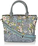 Oilily French Flowers Handbag Grey OCB3209-604, Damen Henkel...
