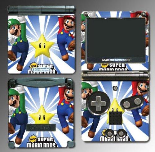 Super Mario Bros Luigi Yoshi Hermanos 3D Land Juego Vinyl Decal