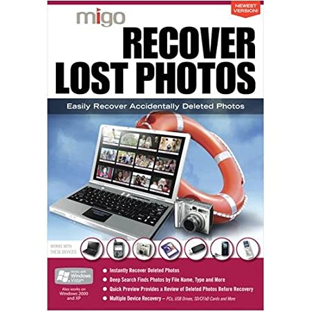 Migo Recover Lost Photos Utility Software - Windows