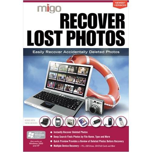 Migo Recover Lost Photos Utility Software - Windows