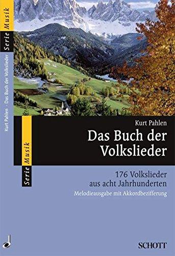 Das-Buch-der-Volkslieder-176-Volkslieder-aus-acht-Jahrhunderten-Melodie-Ausgabe-mit-Akkorden-Serie-Musik