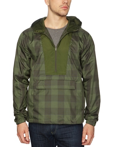 Original Penguin -  Giacca - Con cappuccio  - Maniche lunghe - Uomo, Grün - Rifle Green, Medium