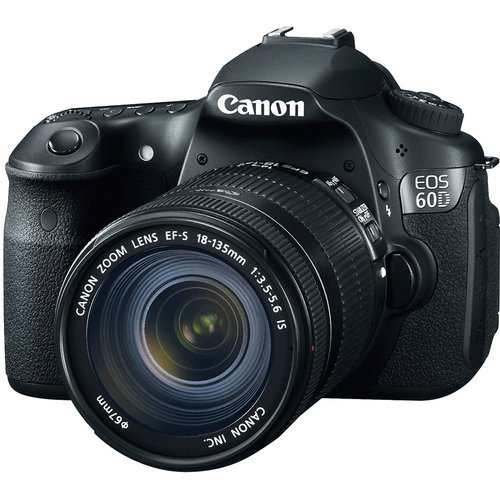 51Zn0YRSoPL Canon EOS 60D 18 MP CMOS Digital SLR Camera with 3.0 Inch LCD and 18 135mm f/3.5 5.6 IS UD Standard Zoom Lens
