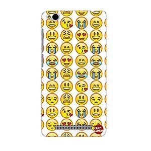 Designer Xiaomi Redmi 3 Case Cover Nutcase - Smiley Moods