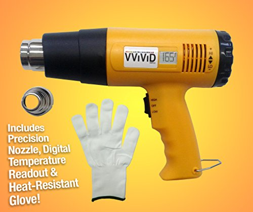 VViViD-Professional-Heat-Gun-Multi-Purpose-Household-Tool-Including-Precision-Nozzle-Digital-Temperature-Readout-and-Heat-Proof-Applicator-Glove