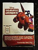 6 Pack Disney Hero chocolate eggs
