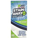 Stain Away Plus Denture Cleanser, Professional Strength, 8.1 oz.