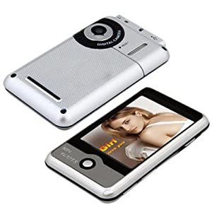 """Yr.seasons 2.8"""" LCD Touch Screen Mp3 Mp4 Player 8gb with Fm Radio Camera"""