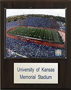 NCAA Football Kansas Memorial Stadium Stadium Plaque