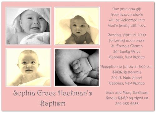 Baptism Invitations Photo front-271784