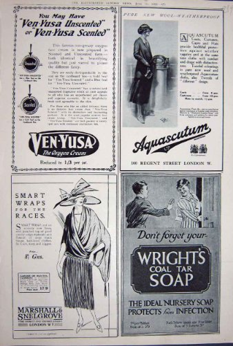 advertisement-1922-wrights-soap-aquascutum-snelgrove
