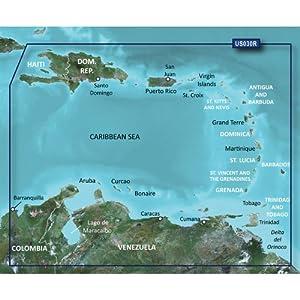 Garmin BlueChart g2 Southeast Caribbean Saltwater Map microSD Card by Garmin