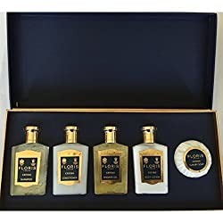 Floris London Cefiro Boxed Gift Set - Lotion, Shower Gel, Shampoo, Conditioner and Soap