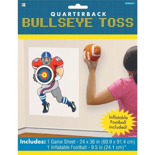 Quarterback Bullseye Toss Game - 1