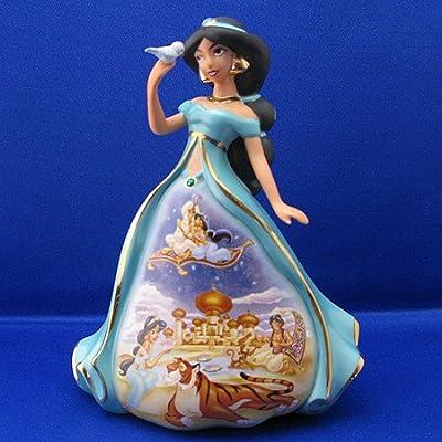 Disney Happily Ever After Jasmine Bradford Exchange Bell Figurine