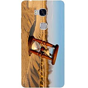 Casotec Sand Clock Design Hard Back Case Cover for Huawei Honor 5X