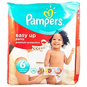 pampers easy up pants 19 couches taille 6. Black Bedroom Furniture Sets. Home Design Ideas