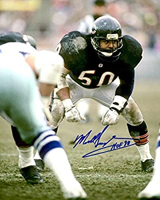 Autographed Mike Singletary 8x10 Chicago Bears Photo