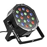 Eyourlife Bühnenbeleuchtung Discolicht Bühnenlicht Par LED 54W Lichteffekt DMX512 RGB