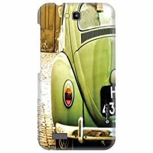 Printland Designer Back Cover for Honor Holly Hol-U19 - Green Case Cover