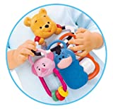 DISNEY WINNIE THE POOH TEETHER, SPINNER & BEADS FOR BABY