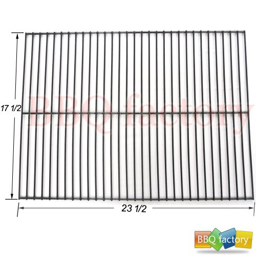 BBQ factory 95301 Porcelain Steel Wire Rock Grate Replacement for Gas Grill Model Turbo 3-burner