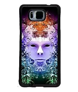 Fuson Multicolor Face Back Case Cover for SAMSUNG GALAXY ALPHA - D3815