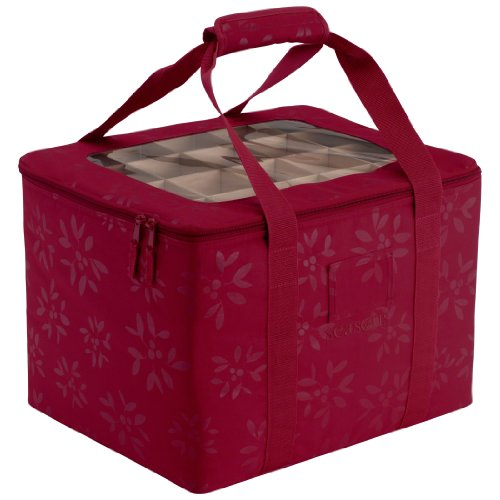 classic accessories seasons christmas tree ornament organizer storage bag new ebay. Black Bedroom Furniture Sets. Home Design Ideas