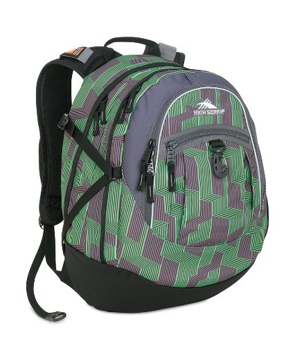 High Sierra Backpack Gray Print