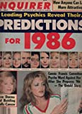 img - for National Enquirer Newspaper, January 07 1986 Donna Reed,Connie Francis, book / textbook / text book