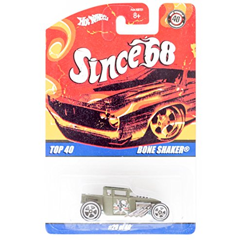 Hot Wheels Since 68 Top 40 Bone Shaker 29/40 - 1