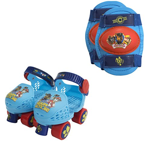 PlayWheels-PAW-Patrol-Kids-Roller-Skates-with-Knee-Pads-Junior-Size-6-12