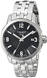 Tissot Men's T0554101105700 Stainless Steel Watch with Link Bracelet