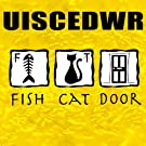 Fish Cat Door