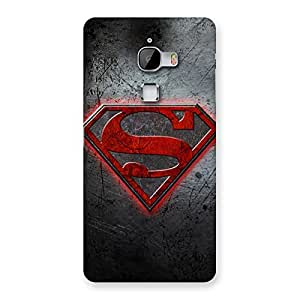 Ajay Enterprises Wonderful Red S Zone Back Case Cover for LeTv Le Max