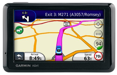 Garmin Nuvi 1390 Traffic Satellite Navigation System with UK & European Mapping