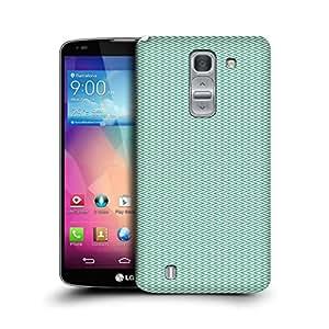 MobileGlaze Designs Micro ZigZag Print Green Hard Back Case Cover for LG G PRO 2 D838
