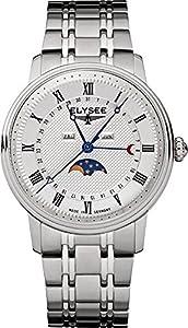 ELYSEE Men's 77002 Classic-Edition Analog Display Quartz Silver Watch