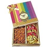 Chocholik Dry Fruits - Combo Treat Of Rocks & Almonds - Diwali Gifts