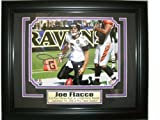 Joe Flacco Autographed Picture - 8x10 - Pre-Framed - Autographed NFL Photos at Amazon.com