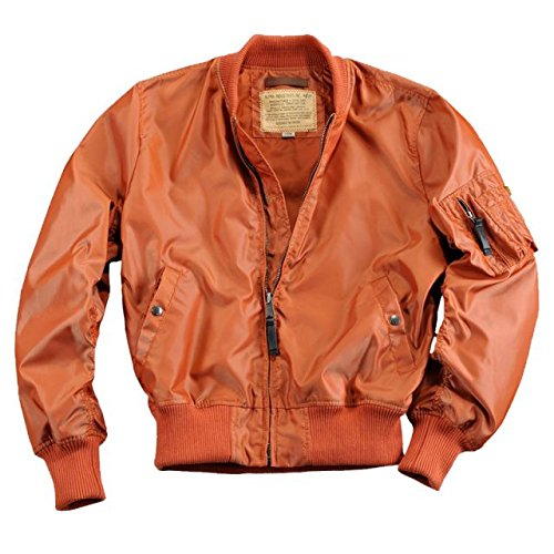 Alpha Ind. Jacke MA-1 TT- burned orange bestellen