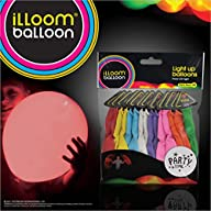 1 X illooms LED Light up Balloons 15…