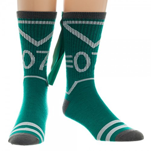 Harry Potter Slytherin Quidditch Crew Socks with Cape (with Gift Box)