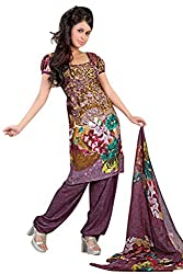 Variation Women's Multi-Coloured Jacquard Unstiched Dress Material (VD11961)
