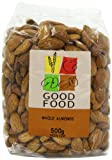 Mintons Good Food Pre-Packed Almonds Whole 500 g (Pack of 10)