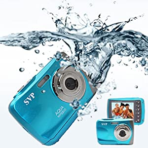 Waterproof ACQUA WP6800 ( Blue ) UnderWater Digital Camera Video recorder 18MP Max.