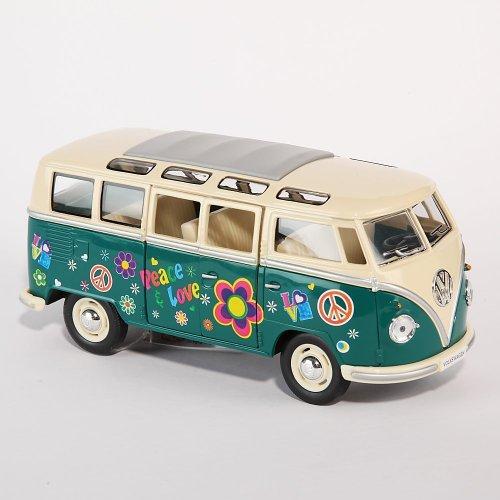 VW-Bulli-Bus-grn-Hippi-124-Volkswagen-Microbus-Modellauto-12176