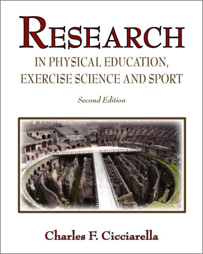 Research in Physical Education, Exercise Science and Sport