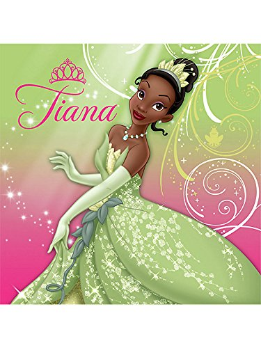 Princess and the Frog Sparkle Lunch Napkin 16 count